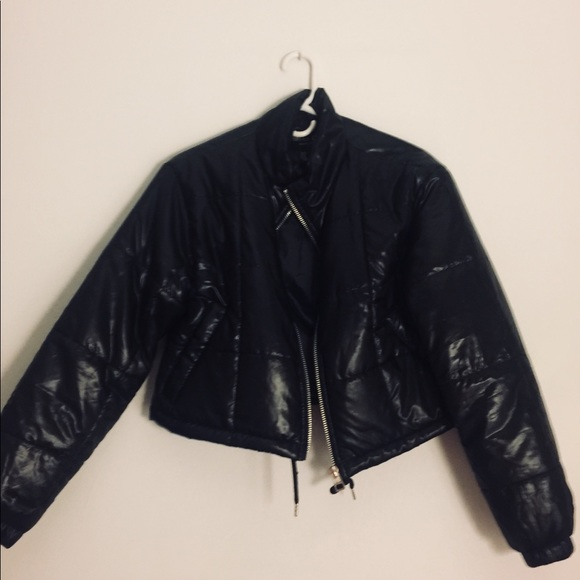 a379c675375 Jackets & Coats | Black Crop Top Jacket | Poshmark